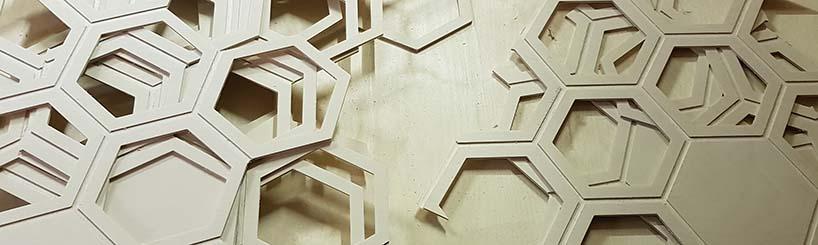 CNC freesimine puidule